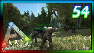 "ARK: Survival Evolved | Ep 54 - ""Bigfoot Ladies Tamed!"" (ARK Gameplay + Giveaway)"