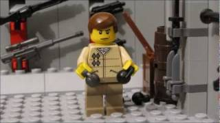 getlinkyoutube.com-Lego zombie movie - Zombie hunter