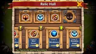 getlinkyoutube.com-Castle Clash Best Set Up for HBM F + G