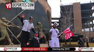 Entrada al estadio Guaranteed Rate Field de los Chicago White Sox Opening Day 2018