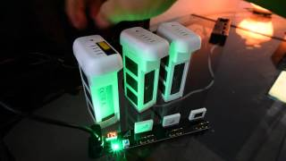 getlinkyoutube.com-Gear Review: $3 Multi Parallel Charger for  DJI Phantom 3 Batteries