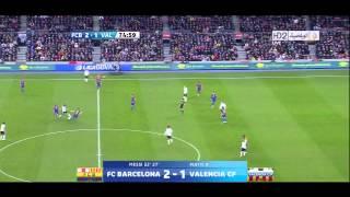 getlinkyoutube.com-اهداف برشلونة 5   1 فالنسيا وسوبر هاتريك ميسي 19 02 2012 HD   YouTube