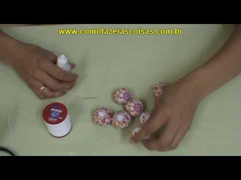 Flor de Fuxico Artesanal Almofadada e Perfumada - parte 1