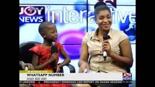 Kalybos Meets Emmanuela   Joy News Interactive (12 8 16)