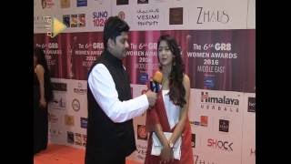 Gr8 Women Awards Dubai - Sriti Jha Meets Caiyad Phahad - Red Carpet Moments