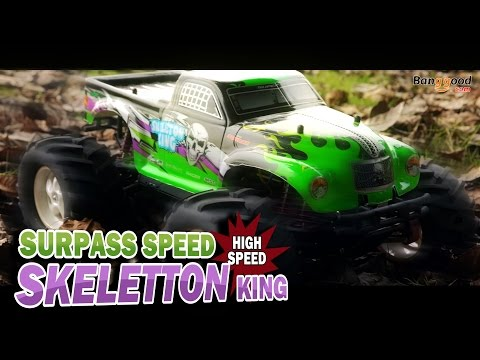 DRIVING AMAZING MONSTER RC DRIFT TRUCK!!-Banggood.com