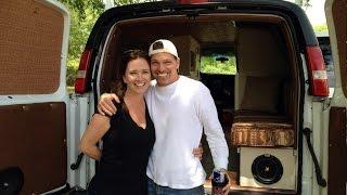 getlinkyoutube.com-Van Life - From Cargo Van to Camper Van – Tour Our Stealth CamperVan