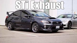 2015-2017 Subaru WRX STi - STi Performance Exhaust (Pure Sound)