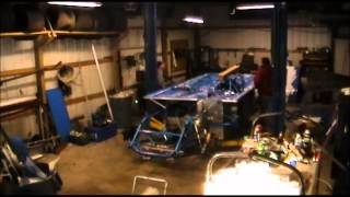 getlinkyoutube.com-Dirt Late Model BARE chassis to COMPLETE car in under five minutes...
