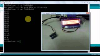 Edison Arduino IDE  Programming Part4 :WiFi Putty Curl Data Logging And ThingSpeak Update
