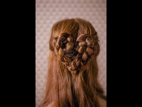 How to make hair style for vellentines day
