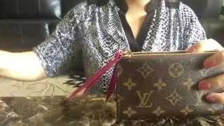 getlinkyoutube.com-Review: LV Adele Compact Wallet