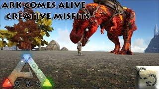 getlinkyoutube.com-Ark: Modded Ark Comes Alive: Creative Misfits Ep 7 ALPHA REX & FULLY EVOLVED PRIME REX
