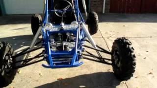 Mini buggy walkaround and startup, mini sandrail