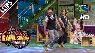 Filmi Sitaron Ka Tennis Khelne ka style - The Kapil Sharma Show - Episode 14 - 5th June 2016
