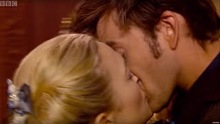 The Doctor Gets Snogged By Madame De Pompadour  | The Girl in the Fireplace | Doctor Who width=