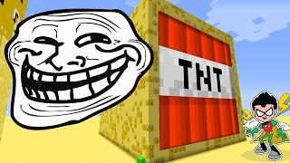 getlinkyoutube.com-Minecraft : CUBÃO JOVENS TITÃS !! | c/ TROLLADA !! ( MINECRAFT TROLL)
