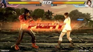 getlinkyoutube.com-tekken 7 fated retribution gameplay test asuka kazama