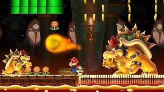 getlinkyoutube.com-Super Mario Maker - Normal 100 Mario Challenge