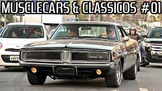 getlinkyoutube.com-MUSCLECARS & CLÁSSICOS Curitiba #01 - Dodge, Chevy, Ford, Cadillac e Mais!