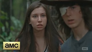 getlinkyoutube.com-The Walking Dead 6x10 - Carl and Enid Woods Scene