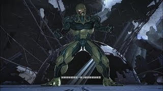 getlinkyoutube.com-ドラゴンボールZ BATTLE OF Z #48 「超悟空vsメタルクウラ・コア」 ランクSS