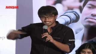 getlinkyoutube.com-Raj Tarun Speech @ Kumari 21 F  Telugu Movie Trailer Launch  -  Heeba Patel , DSP, Sukumar
