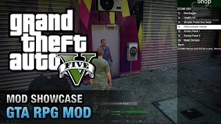 getlinkyoutube.com-GTA 5 PC - Role Playing Mod [Mod Showcase]