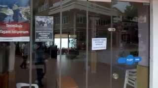 Amasra'da Esnaf Kepenk Kapattı