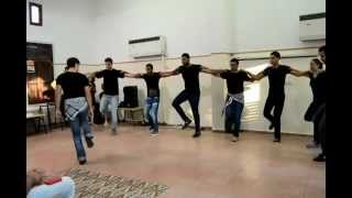 getlinkyoutube.com-فرقة الدبكة الفلسطينيه- جامعة تل ابيب