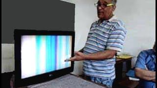 getlinkyoutube.com-TV Lcd LG: Tela acesa sem imagem, com som. Como foi consertada!