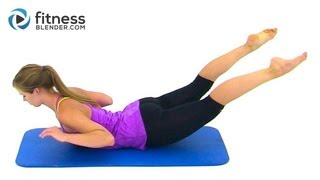 getlinkyoutube.com-Bikini Body Pilates - 27 Minute Abs, Butt and Thighs Pilates Workout by FitnessBlender.com