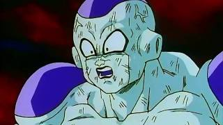 getlinkyoutube.com-Goku SSJ le demuestra su superioridad ante Freezer