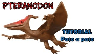 getlinkyoutube.com-Como hacer un pteranodon de plastilina  / How to make a pteranodon  from plasticine