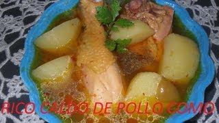 getlinkyoutube.com-RICO CALDO DE POLLO ESTILO OAXACA ( LOS ANGELES COCINAN )