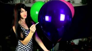 getlinkyoutube.com-Balloon Fetish - Smoking Pop