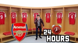 24 HOUR OVERNIGHT In Emirates Football Stadium Fort!