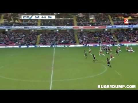 Tries in Europe 2011 2012 day 5 Saracens - Biarritz