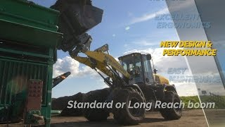 New D Series Wheel Loaders | New Holland Agriculture