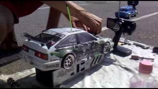 getlinkyoutube.com-HPI Rs4 Nitro Racer Drift