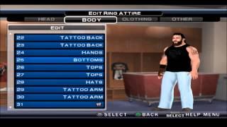 WWE NEW ERA PROJECT BRAY WYATT CAW FORMULA SVR 11 PS2