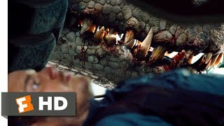 Jurassic World (2015) - It's In There With You Scene (2/10) | Movieclips