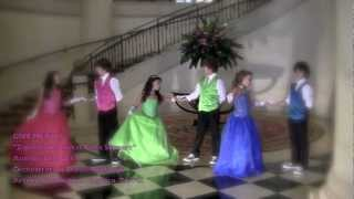 """getlinkyoutube.com-""""Zapatos de Cristal"""" / """"Glass Slippers"""" by Giselle Torres con Give me Five"""