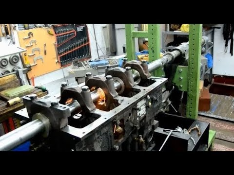 Boring and Welding Machine.Tractor Maintenance Series