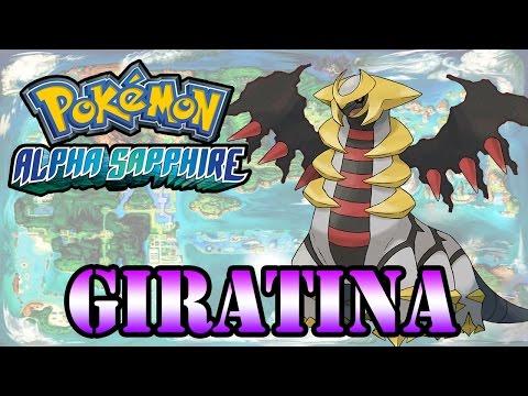 Caçando Lendários [Pokémon Alpha Sapphire] - Giratina