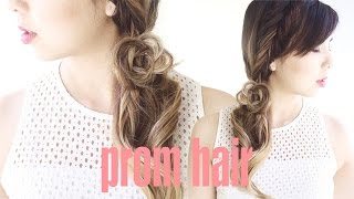 Fairytale Side Ponytail Hair for Prom