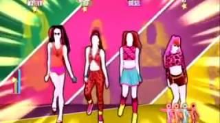 getlinkyoutube.com-Just Dance 2015 ( Macarena The Girly Team ) 3 Stars ( ON WII )
