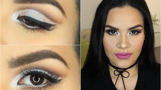 Glam Makeup Cut Crease/  Glitter  | Mytzi Cervantes