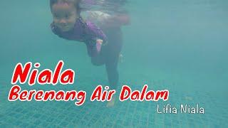 getlinkyoutube.com-Lifia Niala Belajar Berenang di Kolam Renang Air Dalam ❤ Swim in Swimming pool @LifiaTubeHD