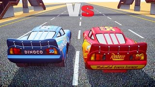getlinkyoutube.com-Grand Theft Auto IV - MCQUEEN Vs DINOCO - GTAIV MOD